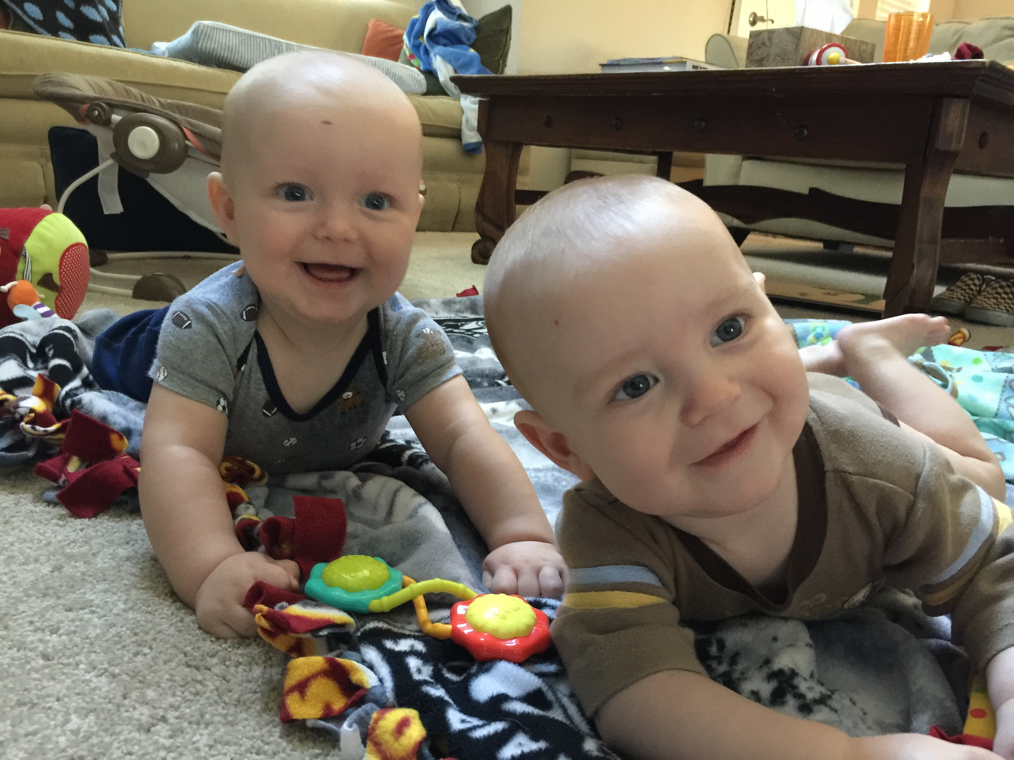 Twins born holding hands are now 2years old and closer than ever